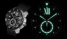 DID YOU KNOW… The Calibre de Cartier Diver watch is one of the thinnest dive watch and it is also ISO 6425 certified?
