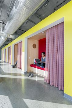 Splunk San Francisco Headquarters #office #interior #design