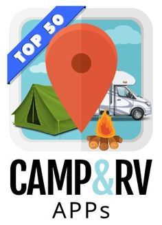 You might not immediately associate camping with apps but they can be super helpful!