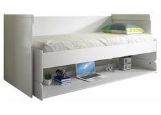 Uitklapbaar bureau met bed 'Pleat' | Lulu | Tienerbedden