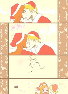 Aw, here's some holiday love ❤ #ichihime #bleach