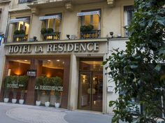 Lyon Hotel La Residence France, Europe Ideally located in the prime touristic area of 2e arrondissement, Hotel La Residence promises a relaxing and wonderful visit. The hotel offers a wide range of amenities and perks to ensure you have a great time. To be found at the hotel are free Wi-Fi in all rooms, 24-hour security, daily housekeeping, fax machine, grocery deliveries. Each guestroom is elegantly furnished and equipped with handy amenities. Entertain the hotel's recreation...