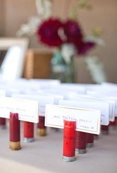 Shotgun Shell Place Holders @Meg Simril, have you seen this?