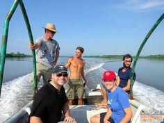 Panama - Isla Canas - Hostal Pachamama - Boat to Mainland