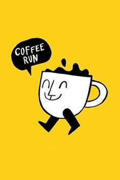 Coffee run / Coffee Art / Coffee Shop Stuff