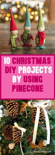 10 Christmas DIY Projects by Using Pinecone All Things Christmas, Christmas Time, Classy Christmas, Natural Christmas, Nordic Christmas, Crochet Christmas, Christmas Projects, Christmas Ideas, Holiday Crafts