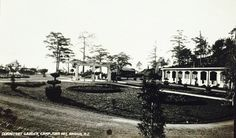Camp John Hay Dormitory Garden, Baguio. Circa 1910-1920 Interesting Photos, Cool Photos, John Hay, Altar Design, Baguio, Dormitory, Manila, Vintage Photos, Philippines