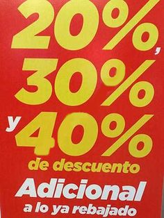 Las tiendas Martí Outlet tienen una nueva promoción condescuentos adicionales del 20%, 30% y 40% sobre lo ya rebajado de la tienda, que se trata de hasta