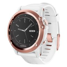 Garmin fenix 3 Smartwatch. https://www.uhrcenter.de/uhren/garmin/smart-watch-armbanduhren/garmin-fenix-3-saphir-rosegold-weiss-010-01338-51/