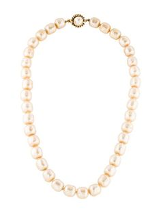 Chanel Pearl Strand Necklace