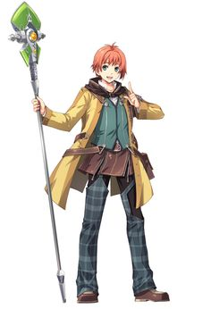 Elliot Craig from The Legend of Heroes: Trails of Cold Steel II