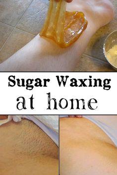 Sugar Waxing at Home - Crazy Beauty Tricks