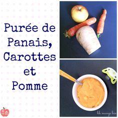 Purée de panais, carottes et pomme