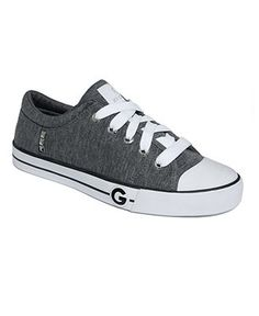 Easy with a glam edge. The Oona sneakers from G by Guess are crafted in a soft fabric with pyramid studs at the side. Casual Sneakers, Sneakers Fashion, Shoes Sneakers, Guess Shoes, Me Too Shoes, Shoe Boots, Shoes Sandals, Cute Baby Shoes, Chuck Taylor Sneakers