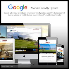 Google #mobile #friendly #update Google will release a significant new mobile-friendly ranking #algorithm that's designed to give a boost to mobile-friendly pages in Google's mobile #search results.