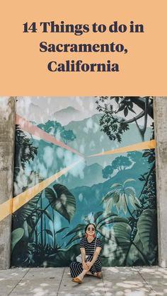 Northern California Travel, California Palm Trees, Sacramento California, Visit California, Weekend Trips, Day Trip, Great Restaurants, United States Travel, Public Art