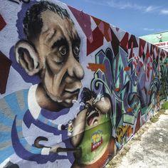 Mural Paintings located all over Santurce  #Santurceesley  #descubre  #puertorico  #santurce  #art  #mural