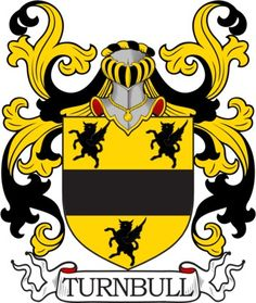 Turnbull Family Crest and Coat of Arms