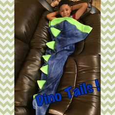 Cozy fleece Dino-blankets! We have almost any color in two sizes Toddler- infant thru 5years Child- 5-10 years Materials: 100% plush fleece and