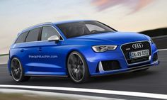 Audi RS 3 Avant Render by Theophilus Chin