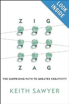 Zig Zag: The Surprising Path to Greater Creativity/Keith Sawyer Innovation Books, Creativity And Innovation, Books You Should Read, Books To Read, Strategic Innovation, Aleta, Along The Way, Great Books, Zig Zag
