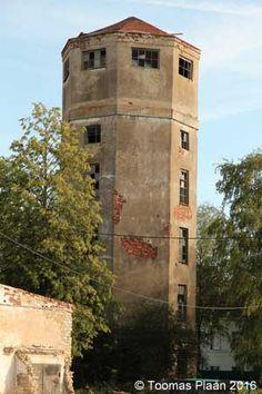 Tammiku water tower, Estonia