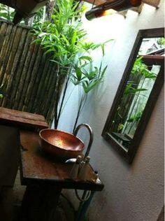 Thai copper bathroom sink