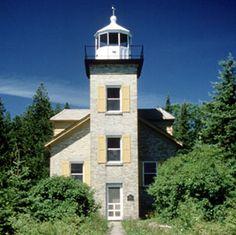 Bois Blanc Island Lighthouse Bois Blanc, Michigan