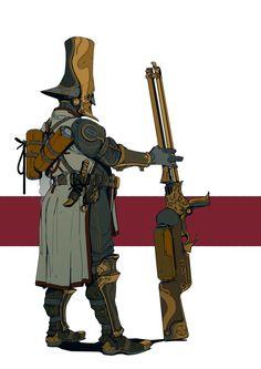 Witch Hunter #1, Hugo Richard on ArtStation at https://www.artstation.com/artwork/k8bRK
