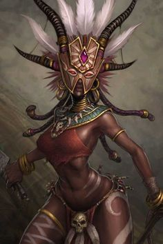 Naxumian sorceress