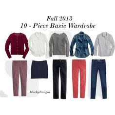 Fall 2013 Ten - Piece Basic Wardrobe