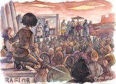 Joff's justice Arya POV by cabepfir.deviantart.com on @deviantART