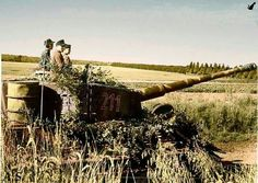 A Tiger 1 on the defense against allied forces operating in France during June 1944