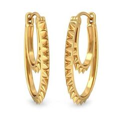 The endless radiance earrings are created in 18k yellow gold and they look fab!