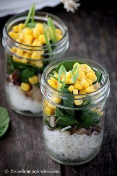 Shitake Rice Noodle Soup | 15 Foolproof Portable Noodle Pots