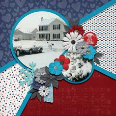 LO from CT Stephanie using the Winter Kisses collection from Luv Ewe Designs Digital Scrapbooking