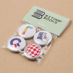 Magnets packs for http://www.bitmapbooks.co.uk - make your order even more awesome by adding packaging!