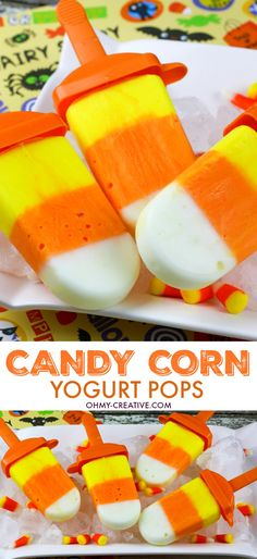 Yogurt Candy Corn Po
