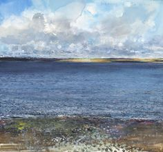 Kurt Jackson. Lapping of the waves, Catacol to Kintyre. May 2011