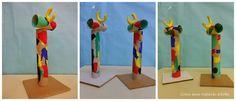 """Manualidades. """"Mujer y Pájaro"""", Joan Miró."""