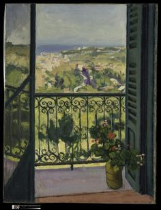 Albert Marquet -  Vue d'un balcon, 1945