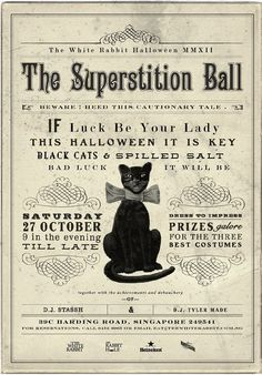 Superstition Party Invitation Friday 13th Birthday Pinterest