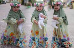 baju muslim anak balita perempuan