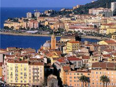 A modern day look at Ajaaccio. Ajaccio is the capitol of Corsica with a population of 65,000.