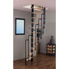 Take a peek at these 5 choices all in regards to Small Staircase, Loft Staircase, Tiny House Stairs, Staircase Design, Spiral Staircases, Space Saver Staircase, Attic Rooms, Attic Spaces, Escalier Art