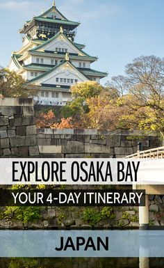 Some of the most interesting cities in Japan are around Osaka Bay - cities like Osaka, Kobe and Sakai. There's a lot to do in Osaka and lots of things to see around Kansai Airport. Here's a guide on what to do around Osaka Bay in four days.