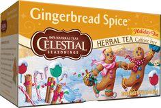 Gingerbread Spice™ Holiday Herbal Tea | Celestial Seasonings