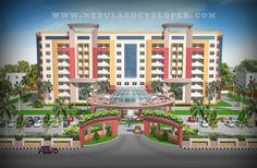 nebulae developer provide modern design at service apartment  design