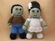 Frankenstein Combo Pack Crochet Amigurumi Monster Pattern