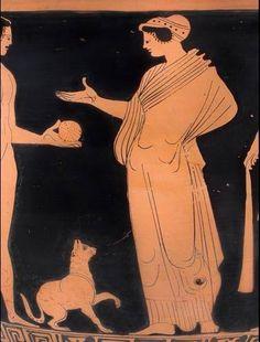 Greek Red Figure Vase.